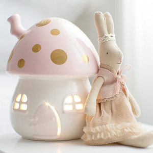 LITTLE BELLE Nightlight Pink and Gold