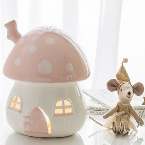 LITTLE BELLE Nightlight Pink and White