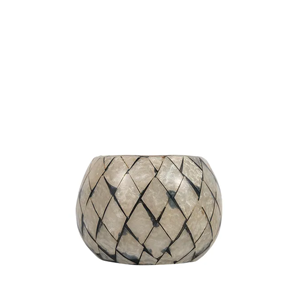 FRENCH COUNTRY Mosaic Round Votive Small