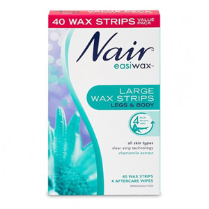 NAIR Easiwax Large Strips 40