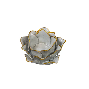FRENCH COUNTRY Olivia Closed Flower Candle Holder