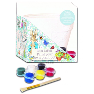 PETER RABBIT Paint Your Own Plant Pot