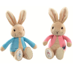 PETER RABBIT Peter/Flopsy Silky Rattle