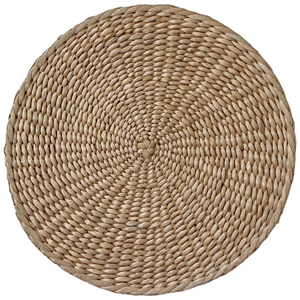 LA VIDA Placemat Rush Straw Natural