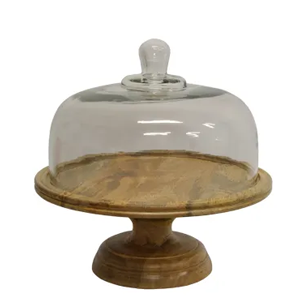 FRENCH COUNTRY Ploughmans Board Cake Dome on Stand