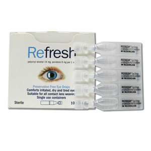 REFRESH Eye Drops 0.4ml 10