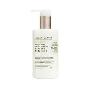 LINDEN LEAVES Herbalist Rosemary & Cypress Hand & Body Lotion 300ml