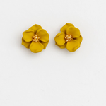 STELLA & GEMMA Earrings Flower Citron