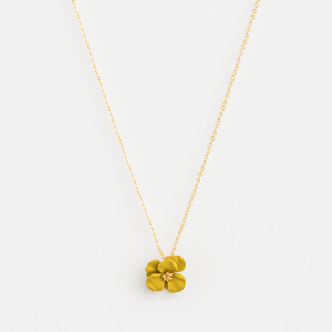STELLA & GEMMA Necklace Flower Citron