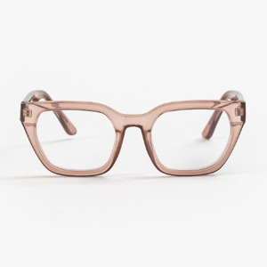 STELLA & GEMMA Readers Ava Beige Transparent