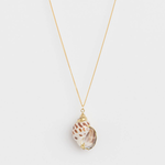 STELLA & GEMMA Necklace Snail Shell Leopard
