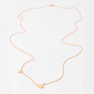 STELLA & GEMMA Necklace Black Starstruck