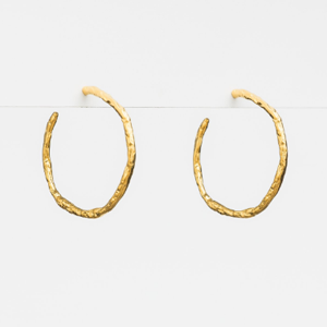 STELLA & GEMMA Earrings Vine Hoop Gold