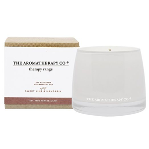 TAC Therapy Lime & Mandarin Candle 260g