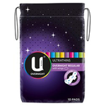 U BY KOTEX U/T Pads +Wings O/N 10pk