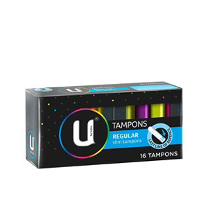 U BY KOTEX Tampon Reg. 16