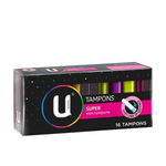 U BY KOTEX Tampon Super 16