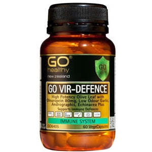 GO HEALTHY Vir Defence Caps 60