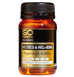 GO HEALTHY Stress & Well Being Caps 30