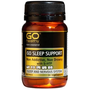 GO HEALTHY Sleep Support Caps 30