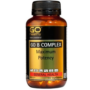 GO HEALTHY B Complex Caps 120