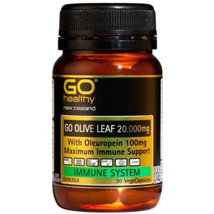 GO HEALTHY Olive Leaf 20,000mg Caps 30