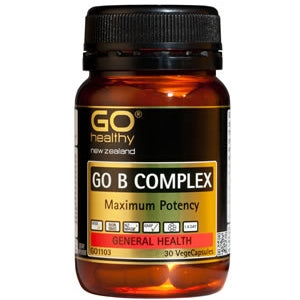 GO HEALTHY B Complex Caps 30