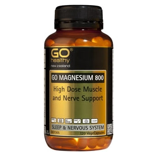 GO HEALTHY Magnesium 800 Caps 120