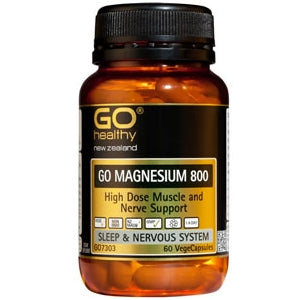 GO HEALTHY Magnesium 800 Caps 60