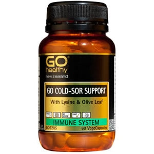 GO HEALTHY Cold Sor Support Caps 60