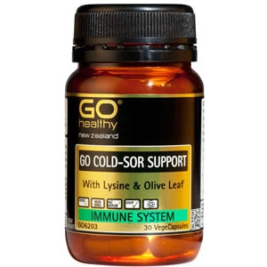 GO HEALTHY Cold Sor Support Caps 30