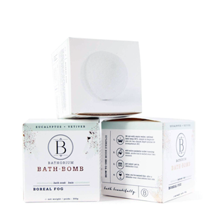 BATHORIUM Bath Bomb Boreal Fog