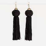 STELLA & GEMMA Earrings Black Emma