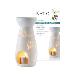 NATIO Ceramic Essential Oil Burner