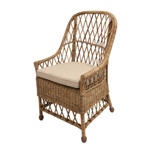 FRENCH COUNTRY Yari Natural Open Weave Chair