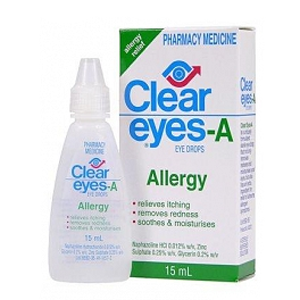 CLEAR EYES Allergy Drops 15ml