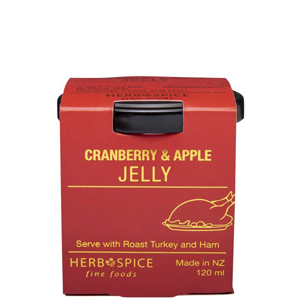 HERB & SPICE MILL Cranberry & Apple Jelly 120ml