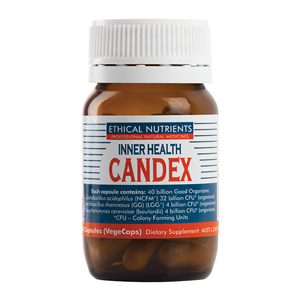 ETHICAL NUTRIENTS Inner Health Candex Caps 30