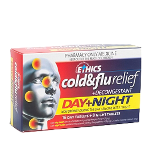 ETHICS Cold & Flu Relief Day & Night 24