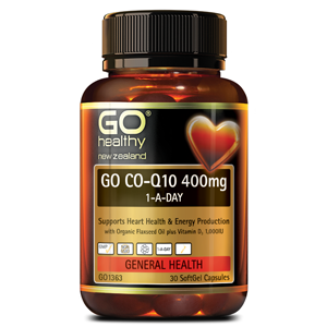 GO HEALTHY CoQ10 400mg 1-A-Day 30Caps