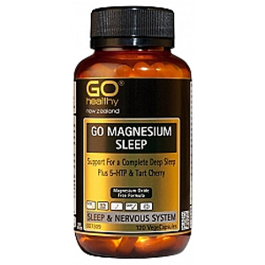 GO HEALTHY Magnesium Sleep 120Vcap