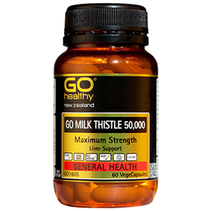 GO HEALTHY Milk Thistle 50000 60 Vcap