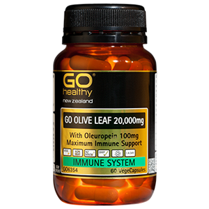 GO HEALTHY Olive Leaf 20 000mg 60 Vcaps