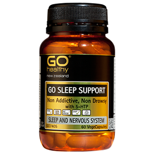 GO HEALTHY Sleep Support 60 Vcap
