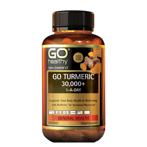 GO HEALTHY Turmeric 30000+ 1-a-day 30 Vcap
