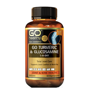 GO HEALTHY Turmeric and Glucosamine 1-a-day 60 Vcap