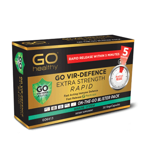 GO HEALTHY Vir Defence Rapid Extra Strong 30 vcaps