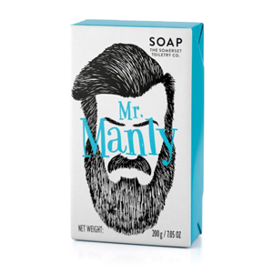 Bearded Man Soap Mr Manly 200g