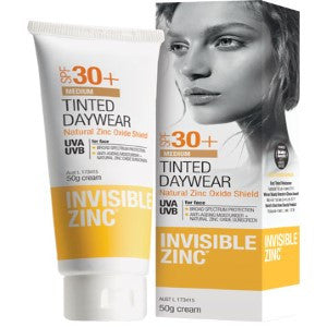 INVISIBLE ZINC Tinted Daywear Light 50g SPF30+