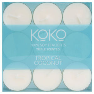 KOKO Tropical Coconut Tealights